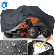 Riding Lawn Tractor Mower Cover Waterproof Uv Protector Heavy Duty Fits 72x54and039and039