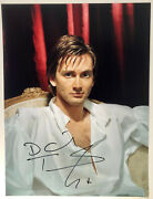 David Tennant Signed Photo 16x12 - Dr Who - Fantastic Actor - Genuine Autograph