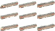 Tomix Ho Gauge 485/489 Series Limited Express Train 489-600 9 Cars Ho-9095 New