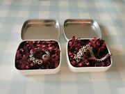 Rocklove Jewelry Discontinued Tentacle Necklace And Ring Set In Tins