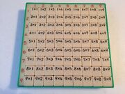 Vintage Masters And Co. Nagoya Multiplication Learning Tool Made In Japan