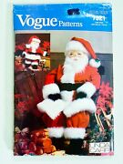 Vintage Vogue Large And Small Santa Claus Doll Pattern 49 And 26 Linda Carr