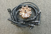 For Mopars. Small Block 318, 340 Spark Plug Wires With Restoration Tan Cap.