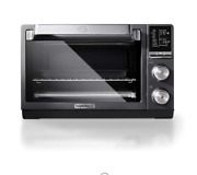 New Countertop Toaster Oven Stainless Steel Extra-large Capacity Black Dark Gray