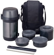 Thermos Stainless Steel Lunch Jelly Cool Gray Jls-1601f Cgy From Japan New