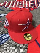 Houston Astros 45th Anniversary New Era 7 1/4 Baseball Cap Red And Purple 59fifty