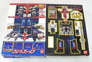 Toys Damaged/missing Accessories Dx Chogokin Speed Of Light Coalescence Great