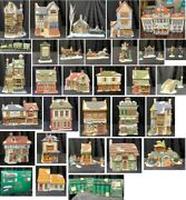 Department 56/heritage Village, Dickens Series, Lot Of 32 Assorted Collection