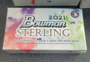 2021 Bowman Sterling Hobby Pack Mini-box Contains 1 Auto And 5 Base Cards