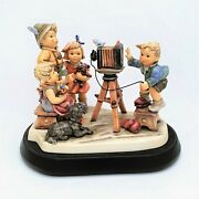 Limited Edition Hummel 1723 And039picture Perfectand039 Figurine With Stand And Box