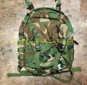 Us Military Army Molle Patrol Pack Backpack Woodland Camo 8465-01-465-2088 New