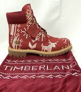 New Andnbspandldquothe Ugly Sweater Andldquo2018 Christmas Boots Mens Sz 8.5m Never Worn