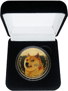 Real Physical Gold Plated Dogecoin Coin[2021 Classic Edition] Collectable Comme