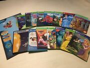 Leap Frog Reader Books Lot - World Map Human Body Solar System And 13 Books