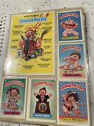Lot Of 1985 - 1986 Garbage Pail Kids, 170+ Series 2-5 Plus 5 Of The Large Cards