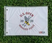 Lot Of 37 Flags 2020 Us Open Embroidered Golf Flag Winged Foot Golfing Course