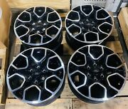 Ford F150 Oem 18 Wheels Black And Machine New Takeoff 2004-2022 Set Of Four