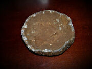 Civil War Heavy Driving Canister Plate Recovered Antietam