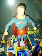 Superman 1940s Wood And Composition Jointed Doll - Ideal Novelty