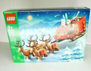 Lego 40499 Santa Sleigh And Reindeers Christmas New Factory Sealed In Hand