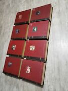 Retired Rare Disney's Christmas Collection Storybook Ornaments 8 Boxes Full Set