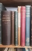 Lot Of Antique Homeopathy Herbalist And Natural Medicine Books 1834 To 1889