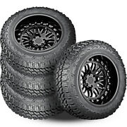 4 Americus Rugged Mt 33x12.5x18 122q 12-ply On/off-road Mud Tires Truck Jeep Suv