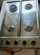 Viking 30 Stainless Steel Gas Cooktop Stove Vgsu1034bsslp