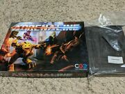 Adrenaline Deathmatch Shooter Board Game + Chainsaw Promo And Wooden Insert