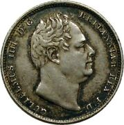Great Britain 1831 William Iv 6 Pence Silver Coins - Toned High Grade