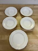 Mikasa Antique White Bread And Butter Plate Set Of 5