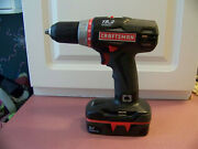 Craftsman 19.2 Volt Compact 1/2 Drill/driver 315.119100 Cs1227 With Battery