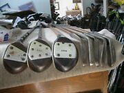 Antique Wood Shaft 8 Club Sonnie Chappie Custom Play Set 3 Woods, 4 Irons,putter