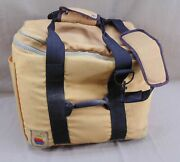 Vtg Apple Macintosh Computer Travel Carry On Bag/case Tote W/straps Sold As Is