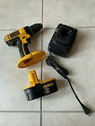 Dewalt Dc720 Cordless Drill Driver And Dc9096 Battery And Dw9116 Battery Charger