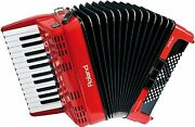 Roland Fr-1x Rd Accordion Pbm Sound Source Right Hand 128 Sounds 26 Keys Red
