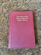 1934 The American Chess Player's Hand Book Guidebook Chess Hc Vg Revised