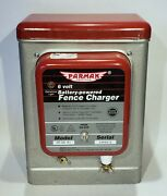 Parmak 6 Volt Electric Fence Charger, Battery Operated, Model Df-ss F