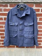 Vintage Korean War Heavy Flying Shirt Us Air Force 50s Wool A-1a Usaaf Military