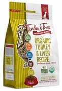 Tender And True Pet Nutrition Organic Turkey And Liver Recipe Dog Food 20 Lb 46012