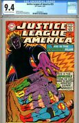 Justice League Of America 59 Cgc Graded 9.4 - Third Highest Graded