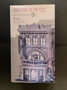 Dept 56 Christmas In The City The Roxy Vaudeville Theatre, New In Open Box