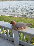 Hudson River Hen Pintail Unknown Carver Wood Duck Decoy Glass Eyes