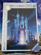 Disney Ravensburger Cinderella Castle Limited Edition Puzzle New In Box Hot Hot