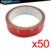 50x Rolls Acrylic Foam 3m Double Sided Tape Strong Adhesive Attachment