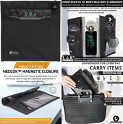 Mission Darkness Neolok Non-window Faraday Bag For Phones + Easy To Black