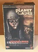 Hot Toys 1/6 Planet Of The Apes Mms87 General Ursus Action Figure Nib Rare