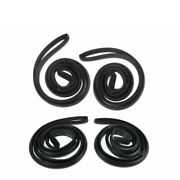 Door Weatherstrip Seals Front And Rear Set Of 4 For Buick Chevy Pontiac Sedan