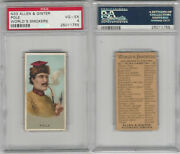 N33 Allen And Ginter Worlds Smokers 1888 Pole Psa 4 Vgex