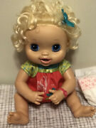 2010 My Baby Alive Interactive Talking Doll 30+ Phrases Uses Bathroom Tested